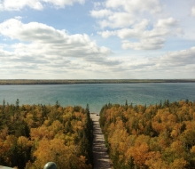 New Presque Isle Lighthouse View
