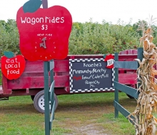 Wagon Rides at Knaebe's Apple Farm