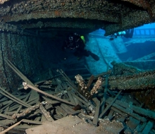 Diving the shipwrecks of Thunder Bay