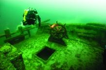 Exploring Underwater Shipwrecks