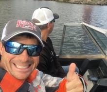Jamey Caldwell and Brad Knight on Thunder Bay