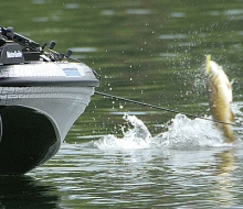 Major League Fishing on Fletcher Pond