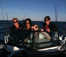 Fishing on Lake Huron