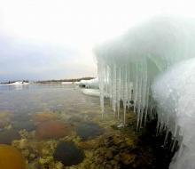 Winter Ice on Lake Huron