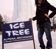 Alpena Ice Tree