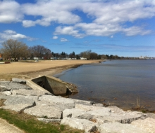 A walk on the Bi-Path relieves Spring Fever