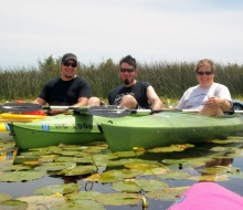 Kayaking Alpena's Wildlife Sanctuary