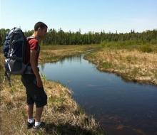 Hiking at Rockport