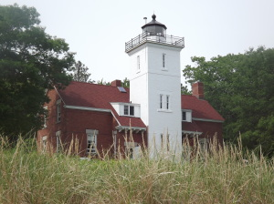 40 Mile Point Lighthouse - by Tara Braun