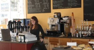 Cabin Creek Coffee barista