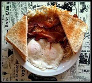 Take 5 Deli breakfast plate