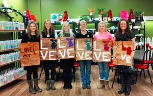 We LOVE Michigan! Painting at Cobbygoose