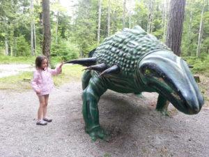 Dinosaur Gardens near Alpena, Michigan.