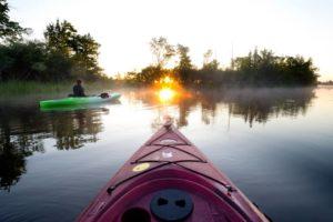 kayaking Alpena Wildlife Sanctuary