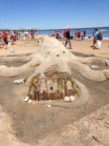 Tiffanie McConnell sand castle