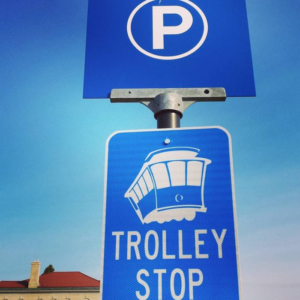 trolley stop