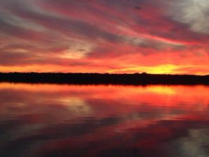 Barry Schatz September Sunset Grand Lake