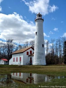Sturgeon Point Lighthouse, by Northern Living Photography