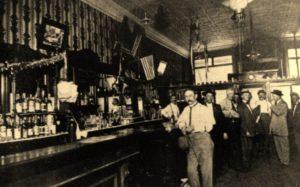 Alpena's John A. Lau Saloon in 1895