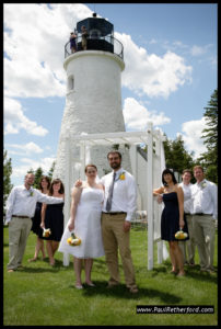 Old Presque Isle Lighthouse Wedding, Photo Credit Paul Retherford, Flickr