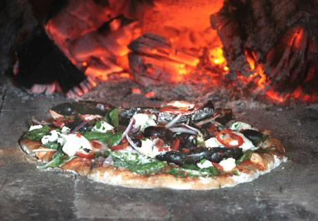 Rosa's wood-fired pizza