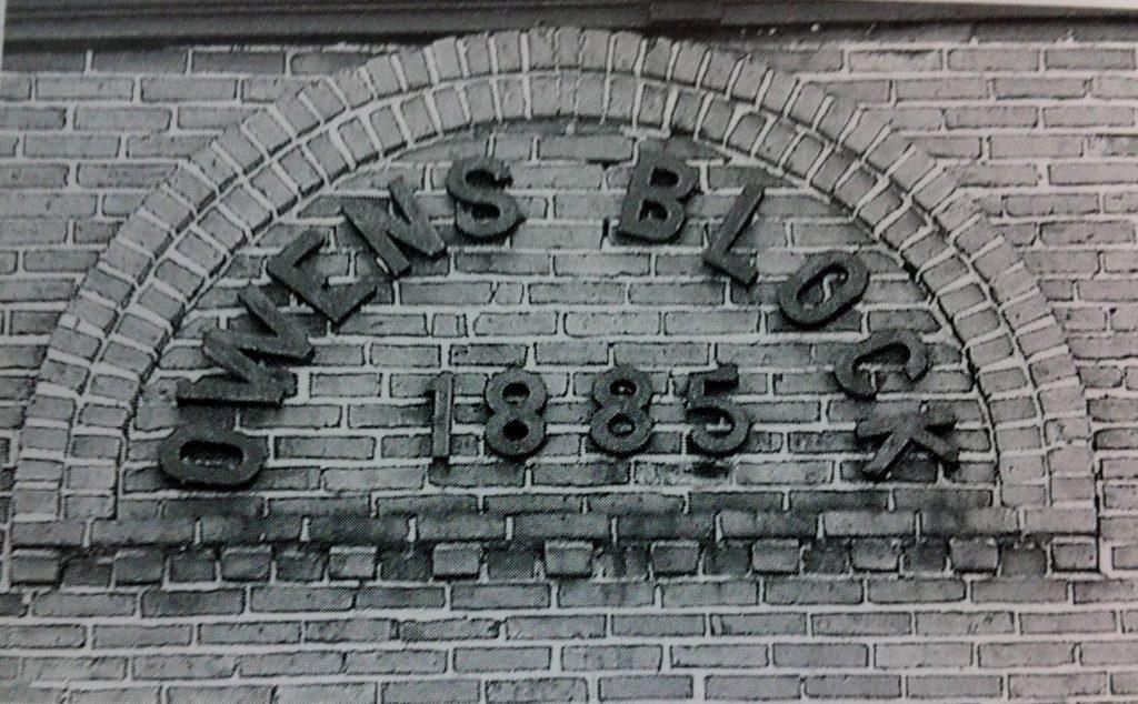 Owen's Block 1885