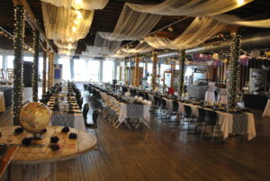 Wedding reception in Art in the Loft