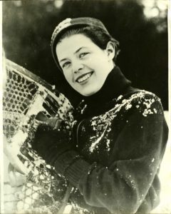 1935 Winter Carnival Queen, Mary Meharg