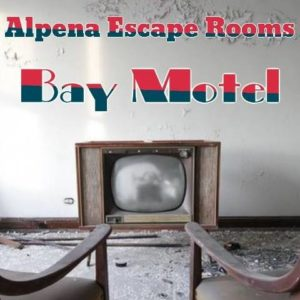 Bay Motel escape room, solve the clues to figure out if a local business owner is actually a serial killer!