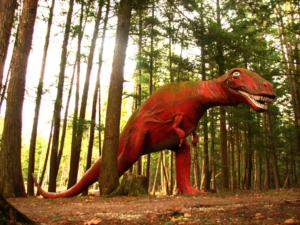 Dinosaur Gardens in Ossineke
