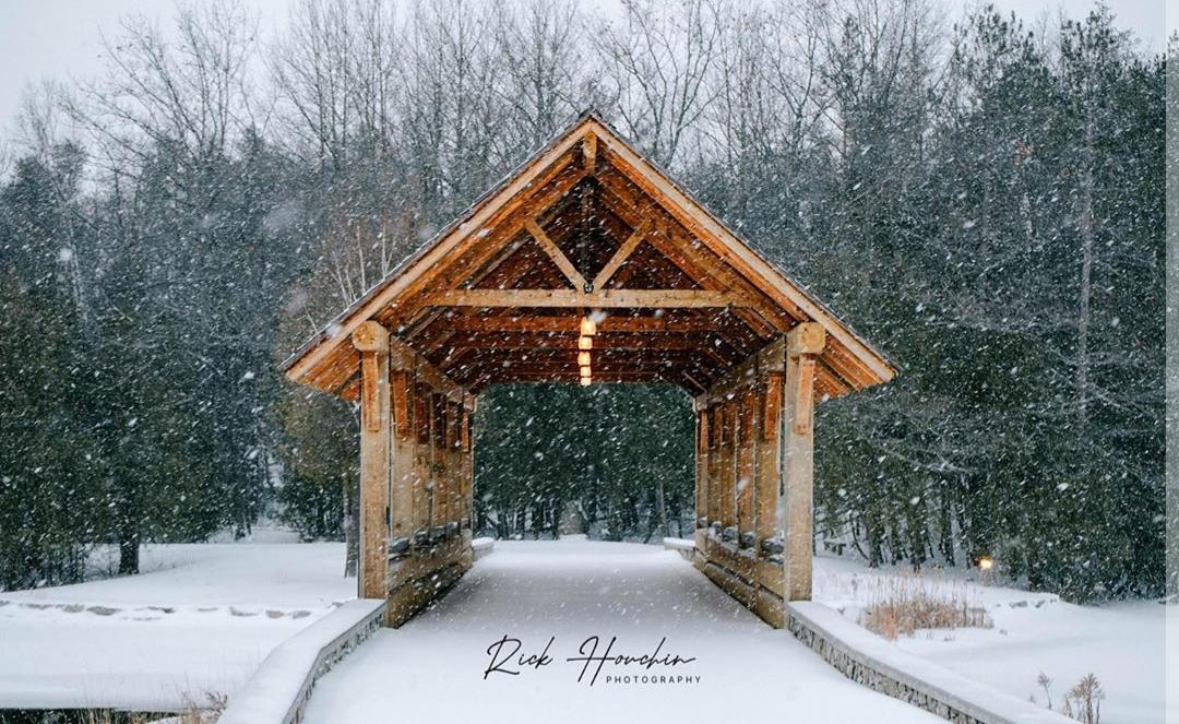 Island Park bridge by Rick Houchin