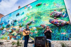 Make a Splash Fish Mural in Downtown Alpena by Joe Gall Photography
