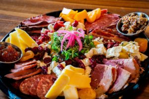 The new meat & cheese trays!