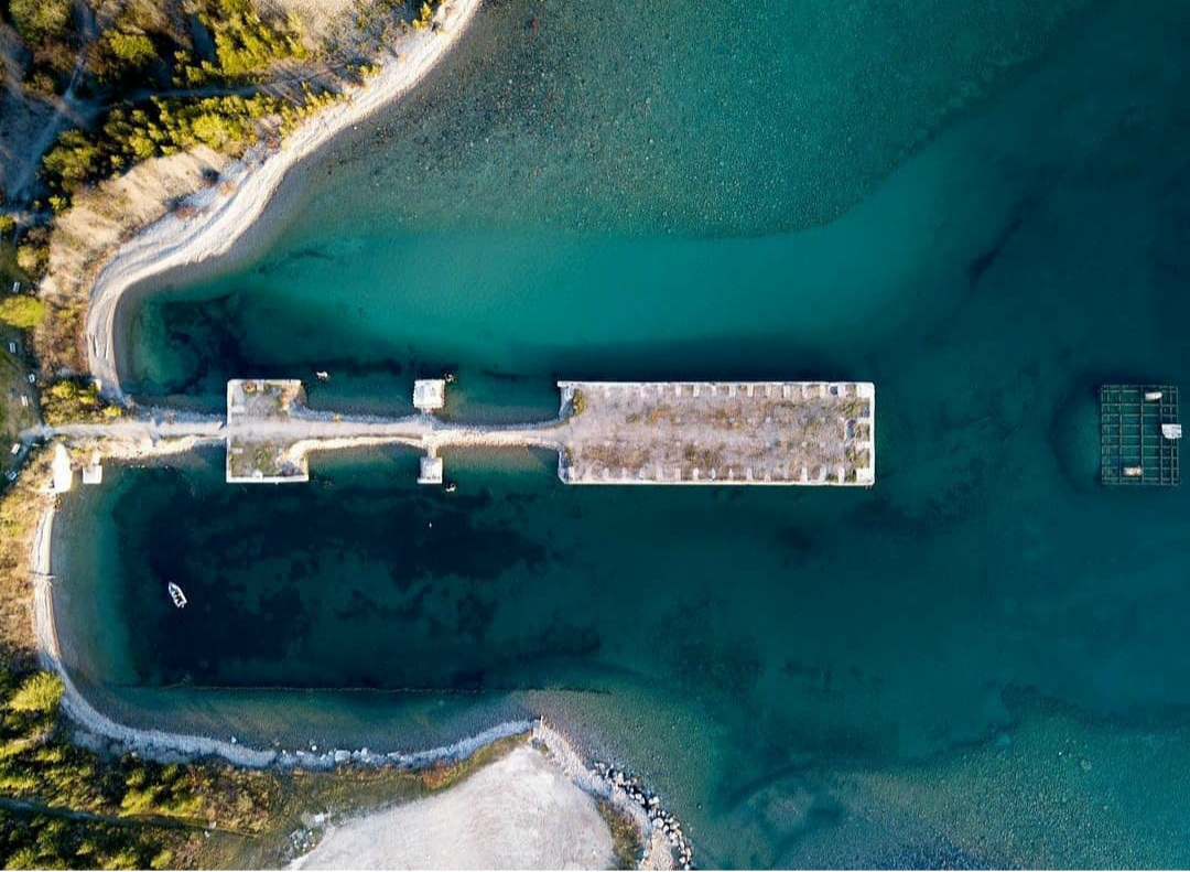 Aerial view of Rockport by Brandon Patterson