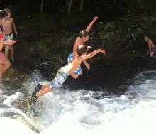 The Spirit of Ocqueoc Falls