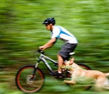 Biking Chippewa Hills Pathway with Paul Gerow